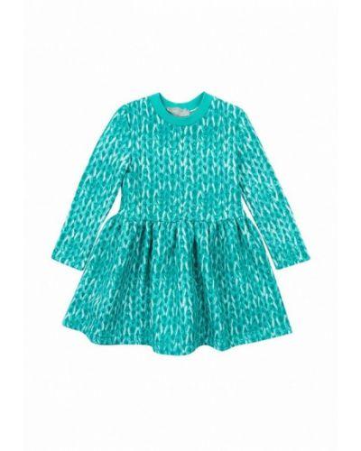 Повседневное бирюзовое платье Kids Couture