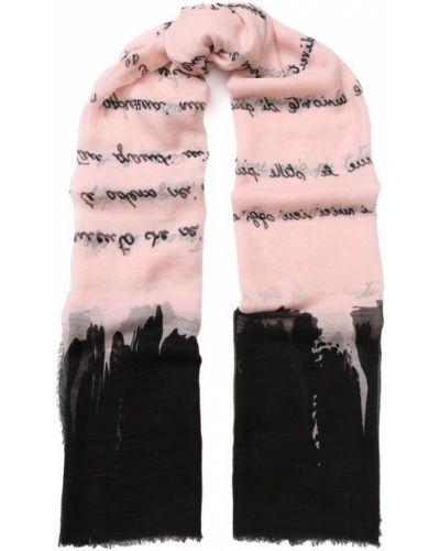 Розовый шарф узкий Faliero Sarti