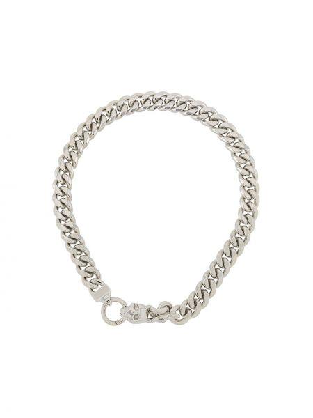 Naszyjnik srebrny Northskull