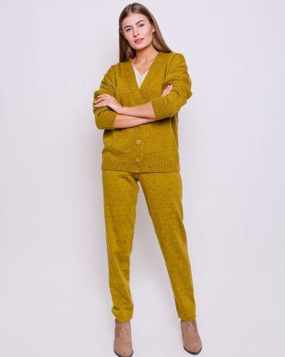 Зауженные брюки - желтые Grandua