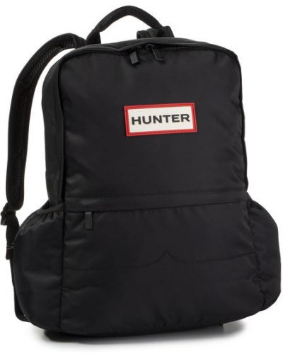 Czarny plecak z nylonu oversize Hunter