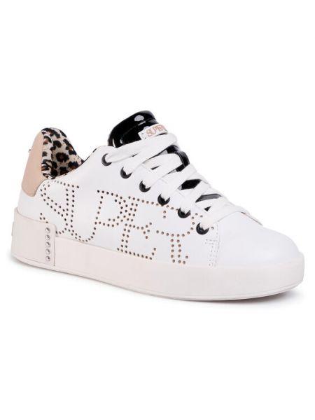 Białe sneakersy Supertrash