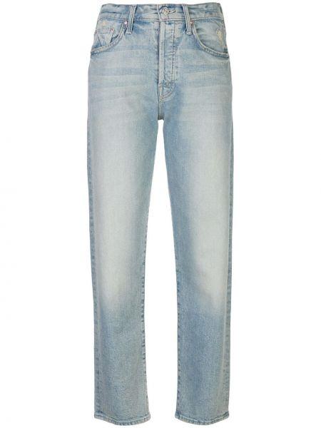 Прямые джинсы на пуговицах с карманами Mother