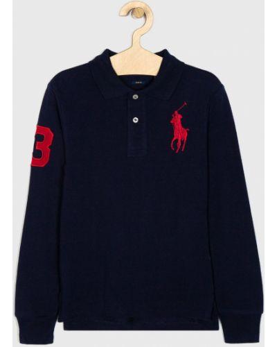 T-shirt z aplikacjami czerwony Polo Ralph Lauren