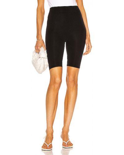 Czarne legginsy z nylonu Simon Miller