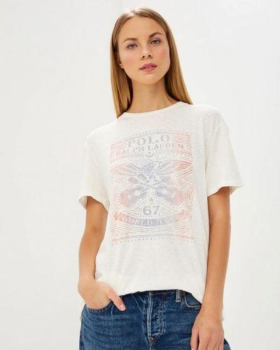 Белая футболка 2019 Polo Ralph Lauren
