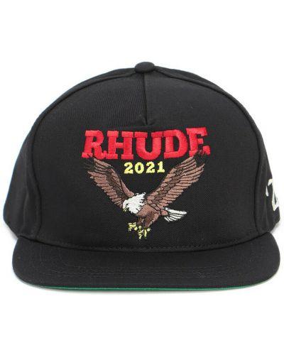 Czarna czapka Rhude