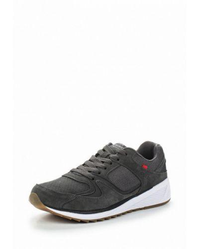Серые кроссовки замшевые Strobbs