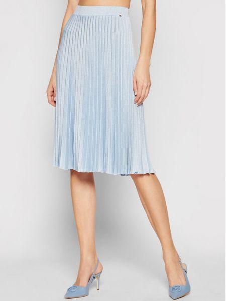 Spódnica plisowana - niebieska Nissa