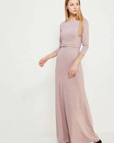 Розовое платье осеннее Ruxara