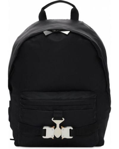 Czarny plecak klamry z nylonu 1017 Alyx 9sm