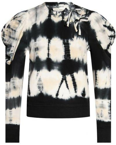 Beżowa bluza dresowa Ulla Johnson
