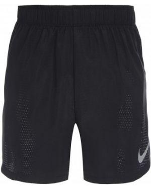 Спортивные шорты черные для бега Nike