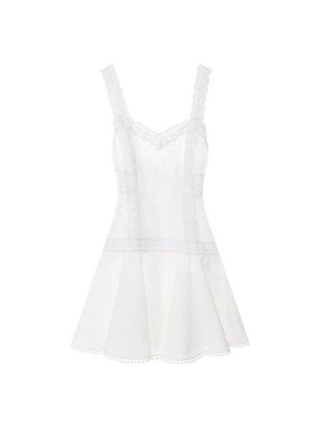 Кружевное платье мини - белое Charo Ruiz Ibiza