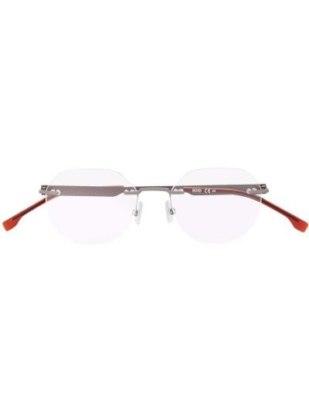 Okulary srebrne Boss Hugo Boss