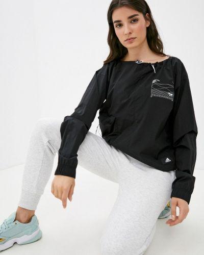 Ветровка - черная Adidas