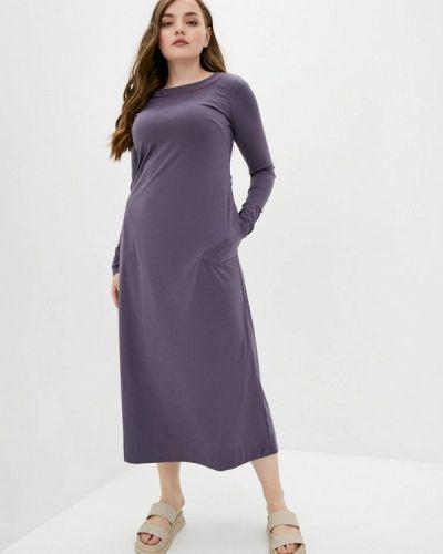 Прямое фиолетовое платье Прованс