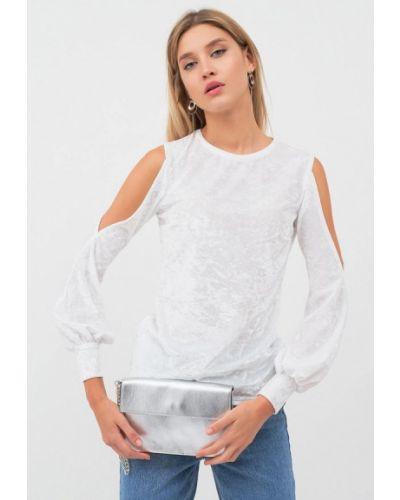 Белая блузка осенняя Lussotico