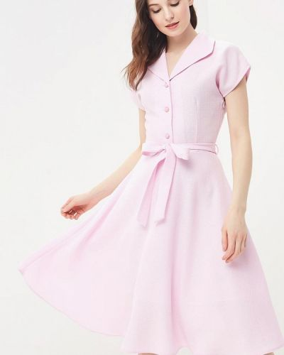 Платье весеннее розовое Vittoria Vicci