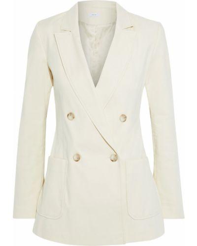 Пиджак двубортный с подкладкой с заплатками Iris & Ink