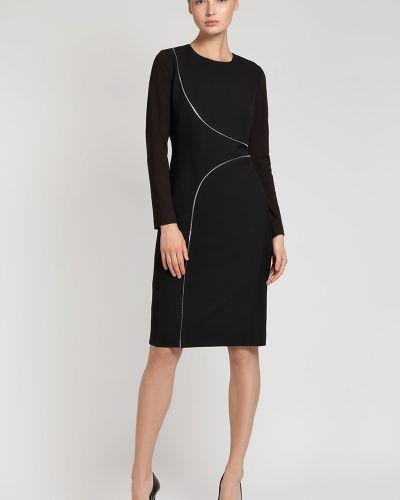 Платье на молнии из вискозы Vassa&co