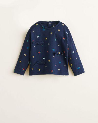 Блуза с вырезом Mango Kids