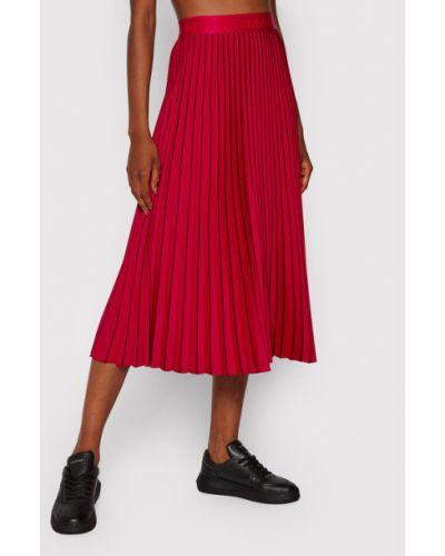 Różowa spódnica plisowana Calvin Klein
