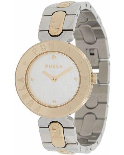 Zegarek okrągły złoto Furla
