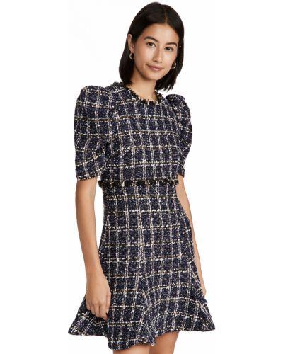 Платье из вискозы - синее Likely