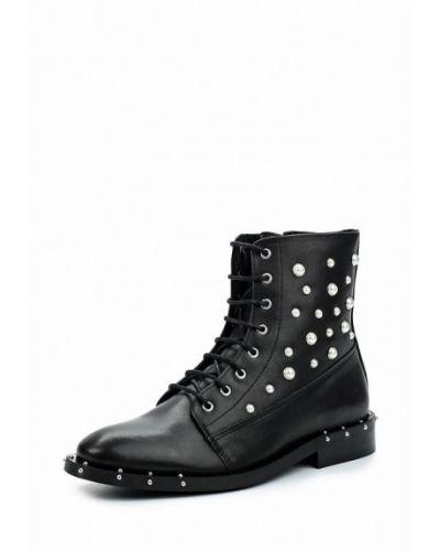 Кожаные ботинки Bronx