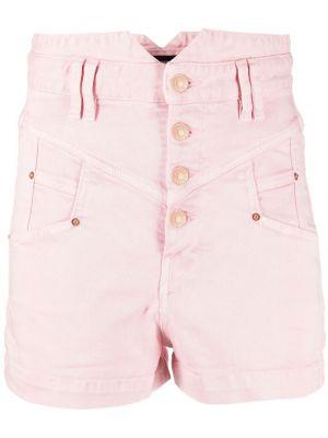 Klasyczne niebieskie jeansy bawełniane Isabel Marant