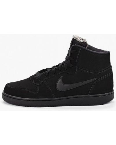 Высокие кеды черные демисезонный Nike