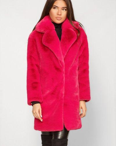 Дубленка розовый Gepur