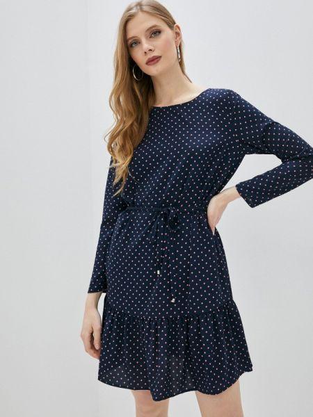 Платье прямое синее Ovs