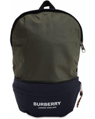Plecak z logo Burberry