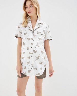 Пижамная белая пижама Мамин дом