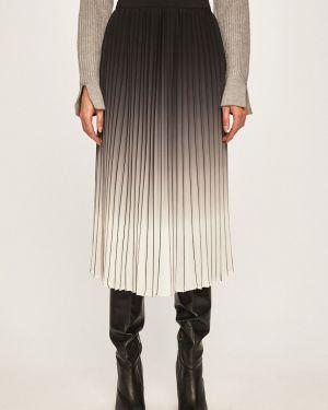 Расклешенная юбка с поясом в рубчик Marciano Guess
