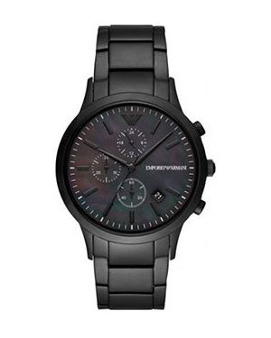 Часы механические водонепроницаемые стрелочные Emporio Armani