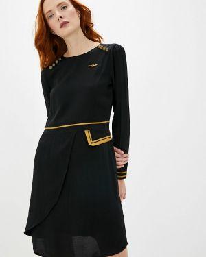 Платье - черное Aeronautica Militare