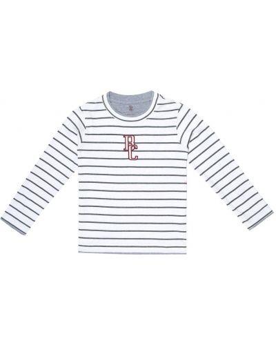 Bawełna bawełna biały koszula Brunello Cucinelli Kids