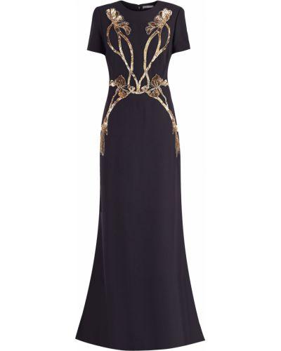 Платье макси приталенное со шлейфом Alexander Mcqueen