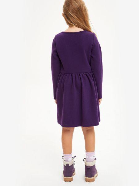 Фиолетовое платье Defacto