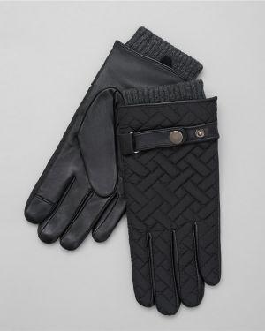 Кожаные перчатки нейлоновые с узором Henderson