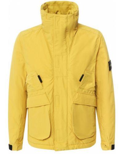 Куртка с воротником-стойкой на молнии Stone Island