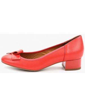Кожаные туфли коралловый оранжевый Ralf Ringer