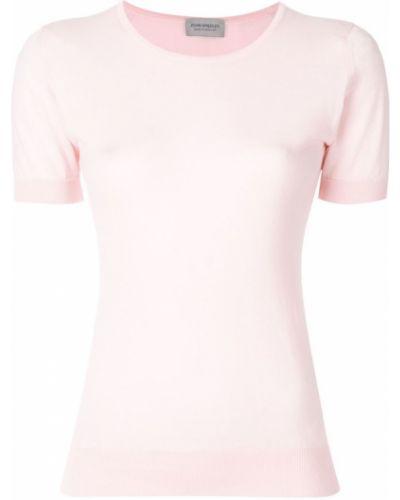 Розовый топ John Smedley