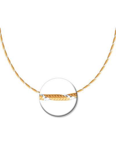 Цепочка из золота с подвесками из серебра Sokolov