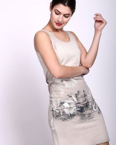 Облегающее платье на бретелях теплое Just Valeri