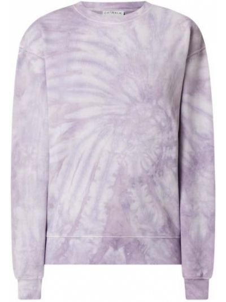 Fioletowa bluza bawełniana Catwalk Junkie
