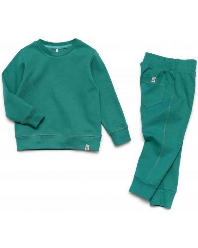 Костюмный зеленый спортивный костюм Ardomi